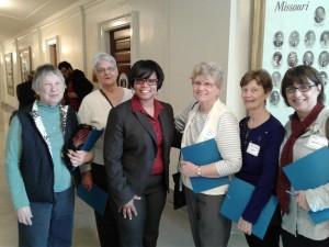 BA Committee Advocacy Day in Jeff City with MIRA (002)